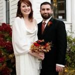 Real Weddings: Alison & John's Delightful L'il Church Wedding