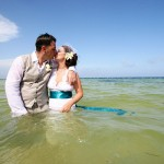 Real Weddings: Pamela & Neil's Wee Beach Wedding in Mexico