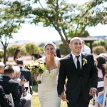 Real Weddings: Rachel and Michael's Backyard Wedding in Wine Country