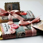 Make Wedding Candy Bar Wrappers from Comic Books