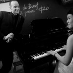 Real Weddings: Felicia & Robert's Bistro Wedding