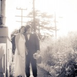 Real Weddings: Adina & Whitman's Intimate Backyard Wedding