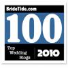 Bride Tide Top 100 Wedding Blogs