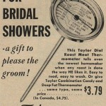 Vintage Bridal Shower Ad: It's All About the Meat!