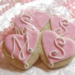 DIY Monogrammed Sugar Cookies