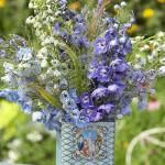 Vintage Tea Tins for Your Wedding