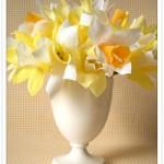 DIY Paper Daffodils