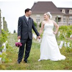 Real Weddings: Christine & Jimmy's $6,500 Vineyard Wedding