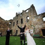 Real Weddings: Reisha and Scott's Destination Wedding in Scotland