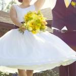 Real Weddings: Hannah and Mathew's Sunny DIY At-Home Wedding