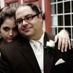 Real Weddings: Jackie & Marc's Beautiful Intimate Wedding