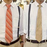 Vintage Wedding: Men in Suspenders