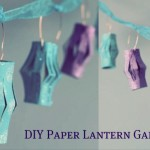 How to Make Paper Lanterns: Garland for Your Wedding