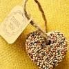 Birdseed Wedding Favor Hearts: Eco, Easy and Inexpensive DIY
