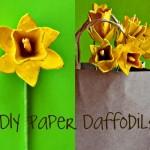 Paper Flowers Tutorial: Egg Carton Daffodils