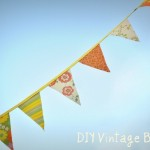 Wedding Bunting: DIY Vintage Banner