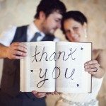 Creative Thank-You Cards from the Bride and Groom