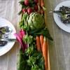 Veggie Wedding Decor