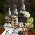 Hot Vintage Wedding Find: Oil Lamps