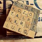 DIY Wedding Ideas: Scrabble Coasters Tutorial