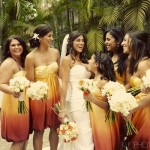 Wedding Style Trend: Ombre Detailing