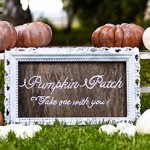 Autumn Wedding Ideas: Pumpkin Decor