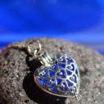 Cobalt Blue Sea Glass Jewelry for Your Bridesmaids