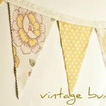 Vintage Wedding Buntings Now Available!