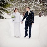 Real Weddings: Emily & Ben's Snowy Inn Wedding