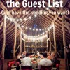 10 Ways to Slash the Guest List