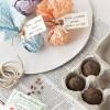 DIY Wedding Favors: Seed Bombs