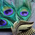 DIY Peacock Feather Fascinator