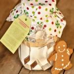 Gingerbread Cookies in-a-Jar