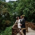 Real Weddings: Rebecca and Joshua's Costa Rica Wildlife Refuge Elopement