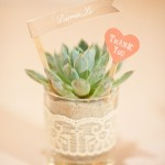 DIY Plant Wedding Favors