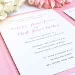 Custom-Designed Wedding Stationery for DIY Brides