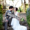Real Wedding: Julia and Luciano's $7,000 Ranch Wedding
