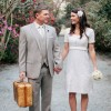 Real Weddings: Kimberly and Jimmy's Romantic Garden Elopement