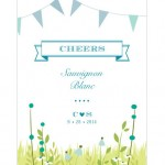 Personalized Wine Labels at The Wedding Outlet