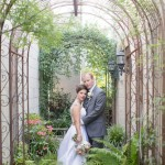 Outdoor Virginia Garden Wedding: Amie and Greg