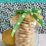 Lemon Shortbread Cookie Favors