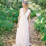Grecian Drapery: Wedding Dress Inspiration