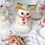 DIY Snowman Shortbreads