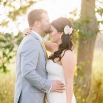 Real Weddings: Hugh and Jackie's Rustic Texas Farmhouse Elopement