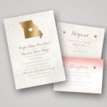 The Hottest Wedding Trend from Invitations by Dawn