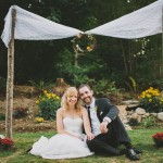 Real Weddings: Aaron and Kjersti's Redmond Backyard Wedding
