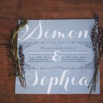 Rosemary and Lavender Winter Wedding Stylized Shoot
