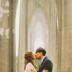 Intimate Cathedral Park Wedding: Max and Eleanor