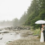 Foggy Tofino Seaside Elopement: Felina and Max