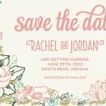 Jenna Stempel Design & Illustration offers Custom Wedding Stationery